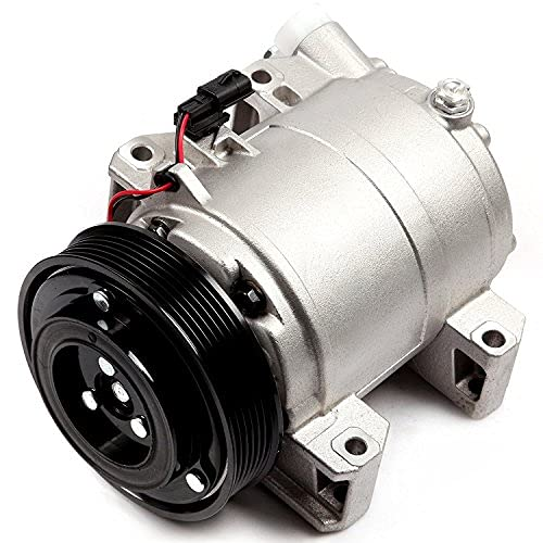 ECCPP AC Compressor with Clutch Replacement for CO 11200C 2008-2013 N-issan Rogue L4 2.5L