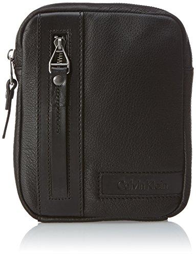 Calvin Klein Jeans Umhängetasche Collin Min Flat Crossover Schwarz (Black) J5EJ500201