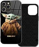 Star Wars Baby Yoda La custodia per cellulare è adatta per i quattro modelli di iPhone 12, che elegante e in plastica TPU per iPhone 12 Iphone12mini