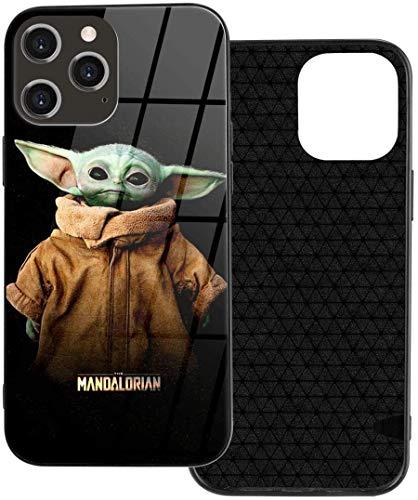 La funda para teléfono móvil de Star Wars Baby Yoda es adecuada para los cuatro modelos de iPhone 12, que es elegante y carcasa de plástico TPU para iPhone 12, iPhone 12mini