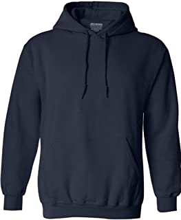 Joe's USA Hoodies Soft & Cozy Hooded Sweatshirt,Small Navy