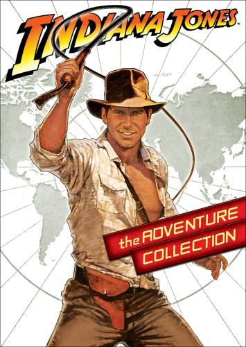Indiana Jones: The Adventure Collection (Special Editions of Indiana Jones and the Raiders of the Lost Ark / Indiana Jones and the Temple of Doom / Indiana Jones and the Last Crusade) by Harrison Ford