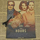 qwerz Poster Retro Kraft Papier WandEins Meryl Streep Film