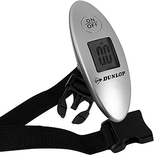 Dunlop - Báscula para equipaje Báscula digital para maletas Báscula Portátil Pantalla LCD 0-40 kg 4 colores