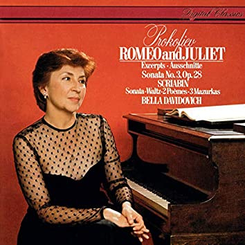 Prokofiev: Piano Sonata No. 3; 7 Pieces from Romeo and Juliet / Scriabin: Piano Sonata No. 2