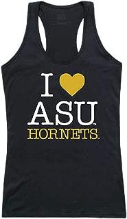 ASU Alabama State University NCAA Women's I Love Tank Top t Shirt