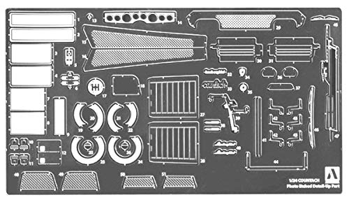 1/24 ディテールアップパーツ No.TSC-01 ランボルギーニ カウンタック 専用ディテールアップパーツセット