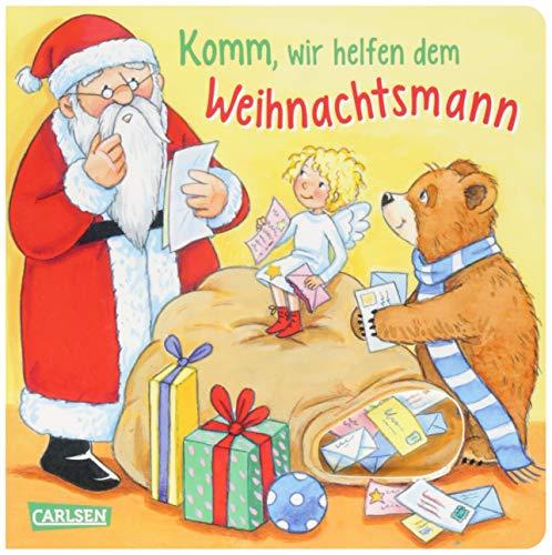 Komm, wir helfen dem Weihnachtsmann: Ein Gucklochbuch zur Weihnachtszeit