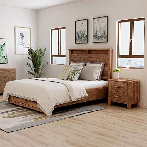 solid wood bedroom set - 3