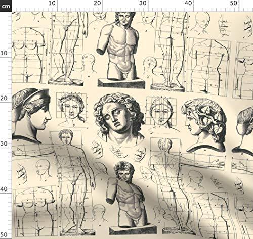 Neoklassizistisch, Anatomie, Römisch, Griechisch, Barock Stoffe - Individuell Bedruckt von...
