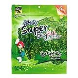 SELECO Seaweed Snacks | Super Big Bite Seaweed Sheets / Original Flavored Asian Snacks - Korean Snacks - Nori Sheets - Sushi Seaweed Sheets - Seaweed Chips - Seaweed Snack (Pack of 2)