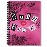 Spiral Notebook Mean Girls Burn Book Composition Notebooks Journal With Premium Thick Paper