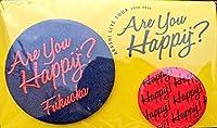 嵐 「LIVETOUR Are you Happy? 2016」 公式グッズ 福岡 会場限定 バッジセット …