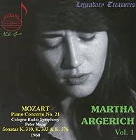 Martha Argerich 1 by W.A. Mozart (2014-05-03)
