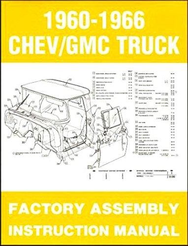 1963 1964 1965 1966 GMC PICKUP TRUCK Assembly Manual