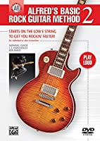 Alfred'S Basic Rock Guitar Method 2: Starts on the Low E String to Get You Rockin' Faster [DVD]