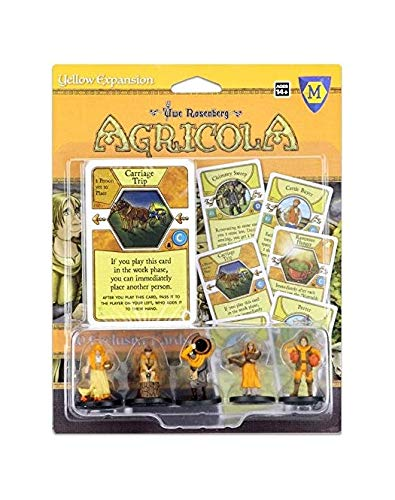 Mayfair Games Europe mfg72257Agricola Game Expansion: Yellow (5Figures), Multicolor