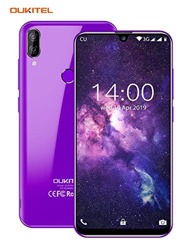 OUKITEL C16 Unlocked Cell Phone, Unlocked Smartphone Android Phone 9.0 with 5.7' HD+ Waterdrop Display 16GB+2GB RAM 2 Nano SIMs 8MP+5MP Dual Camera Fingerprint ID 2600mAh Battery (International)