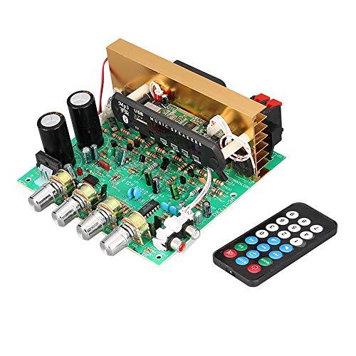 WNJ-TOOL, 1Set Bluetooth-Audioverstärkerplatine 80W + 80W + 80W 2.1-Kanal-Subwoofer-Leistungsverstärker-Audio-Board mit TF FM Aux U-Festplatten-DIY
