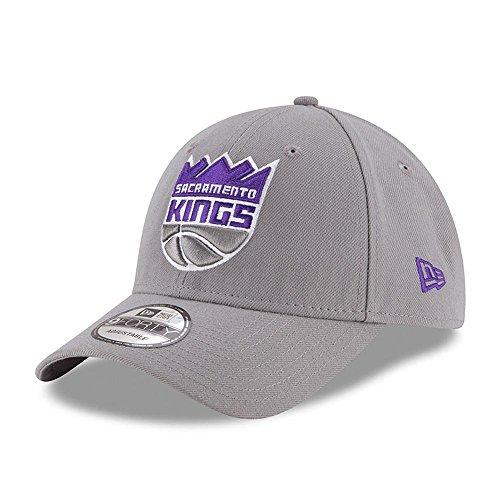 New Era Herren Kappe 9Forty Sacramento Kings, Grau, M, 11405592