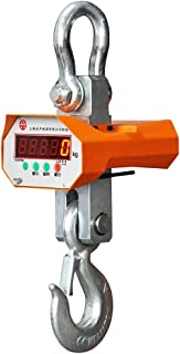 MXBAOHENG 1000Kg (1 Ton) Digital Hanging Electronic Crane Scales Industrial wirless Crane Scale