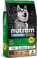 طعام الكلاب البالغة اس 9 من نوترام لصحة متوازنة، من لحم الضان، 11.4 كغم