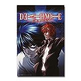 mgrlhm 5D Diamond Full Anime Death Note Pintura Decoración del hogar Punto de Cruz Bordado Imagen Mosaico Patrón Etiqueta de la Pared 50x70cm