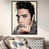 nr Moderne Klassische Musik Elvis Singer Rock King Poster