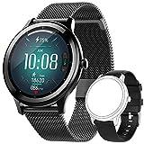 JINPXI Smartwatch Reloj Inteligente para Hombres, IP68 Resistente al Agua 1.28' TFT con Monitor de Sueño, Calorías y Frecuencia Cardíaca, Pulsera de Actividad Inteligente con 24 Modos Deportivos