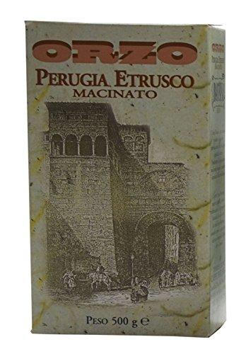 """Caffè batani: Tuscan""""Perugia Etrusco"""" Toasted Ground Gerste–17,6Unzen (500g) Paket [Italienische Import]"""