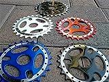 rianiq07 Bicycle Sprockets for BMX Bikes, CNC MACHINED, 25T BMX