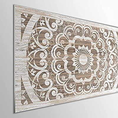 Fabricado en PVC espumado con impresión directa UVI. Gran ligereza, resistencia y durabilidad. Fácil instalación. Ideal para dar un nuevo aire a tu dormitorio