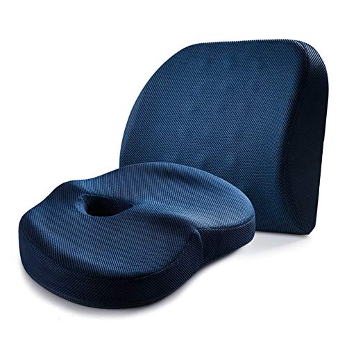 SXFYGYQ Coussin Soutien équilibré Belle Fesses Taille Pad Confortable Respirant Dos Coussins appropriés pour Les Personnes sédentaires,A