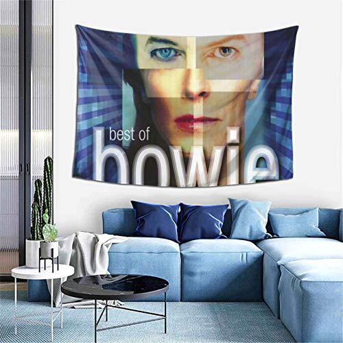 Tapestry Wall Hanging David Bowie  tapestry for Dorm aesthetic Home Wall Decoration Beach Blanket One Size