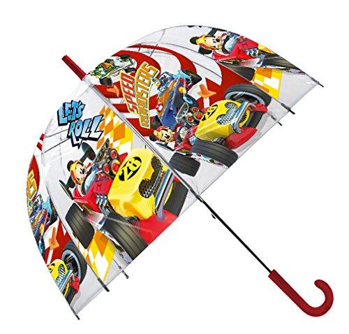 """Paraguas Burbuja Trasnparente Mickey Disney 19\"""""""