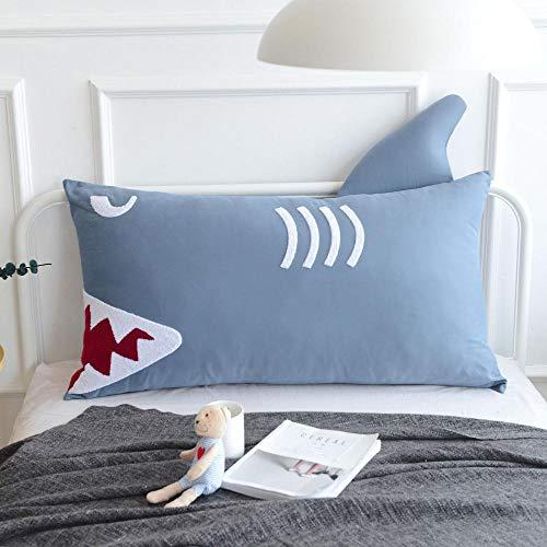 DJDD Ins Cartoon Bedside Cushion, Gran Respaldo de Elefante, Nordic Children's Room Large Cushion, Desmontable y Lavable sofá Respaldo de la Cama 150X60cm C