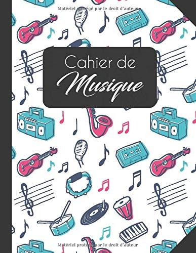 Cahier de Musique: Cahier de Musique Avec Portée | Carnet de Partitions | Grand Format