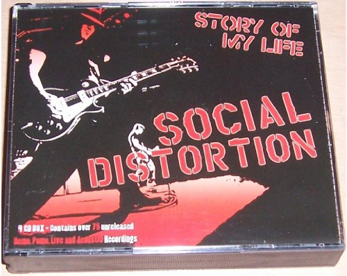 Social Distortion - Story Of My Life - 4CD Set Mike Ness - 4cd