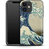 Premium - Carcasa para iPhone 12 Mini (Gran Wave Off), diseño de Kanagawa de Hokusai