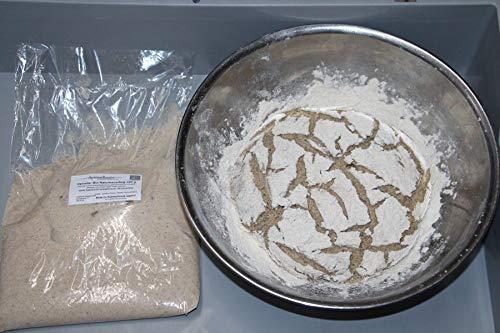 Bio Sauerteig (Roggensauer) | aus 100% Demeter Roggenmehl | frischer Natursauerteig – perfekt für Brote oder als Anstellgut – Inhalt: 300g Roggensauerteig