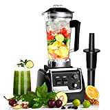 Blender for Kitchen 2200W, Smoothie Blender Machine with Variable Speed Blender Commercial, 2L Tritan Container and 30000 RPM for Home and Commercial