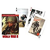 world war 2 equipment - Piatnik 00 1492 World War II Playing Cards