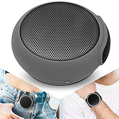 ANCwear Portable Bluetooth Speakers Wireless Mini Speaker with Enhanced Bass,HD Sound,Wearable Speaker with Microphone,9.5H Playtime,IPX8 Waterproof Suitable for Sports,Outdoor Travel and Home from ANCwear