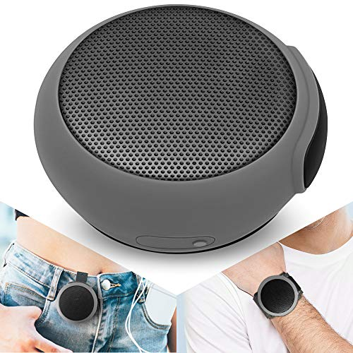 ANCwear Portable Bluetooth Speakers Wireless Mini Speaker with Enhanced BassHD SoundWearable Speaker with Builtin Mic95H PlaytimeIPX6 Waterproof Suitable for SportsOutdoor Travel and Home