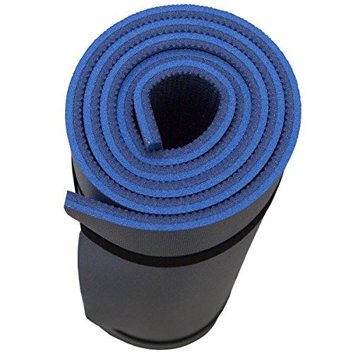 Siehe Beschreibung Isomatte 2 lagig Wasser- und kälteabweisend 180 x 60 cm lang rollbar: Isoliermatte Turnmatte Bodenmatte Camping Matte Thermomatte Spielmatte