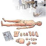 WLKQ Mannequin Humain démonstration, Mannequin Soins aux Patients, Grandeur Nature Mannequin Soins aux Patients pour Soins Infirmiers médicaux Entraînement Enseignement & Education Materiel médical