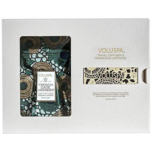 Voluspa Travel Diffuser & Fragrance Cartridge - French Cade Lavender