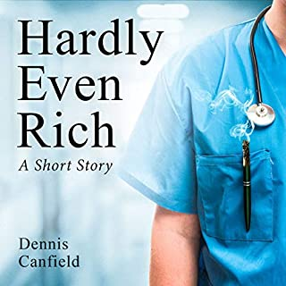Hardly Even Rich audiobook cover art