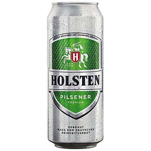 Holsten Pilsener, 24 x 500 ml inc....