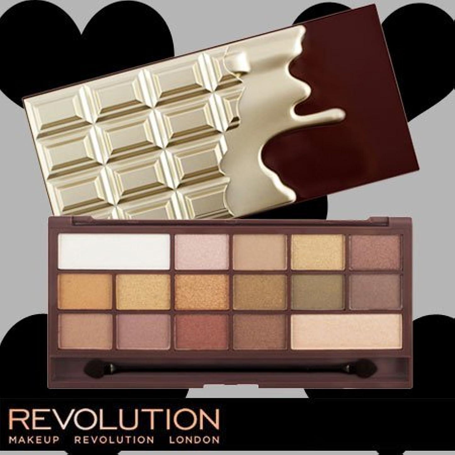 信頼ラウズ関連付けるメイクアップレボリューション アイラブメイクアップ アイラブチョコレート #ゴールデンバー 16色アイシャドウパレット -MAKEUP REVOLUTION-